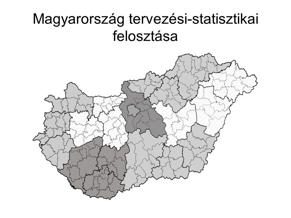 Magyarország tervezési-statisztikai felosztása