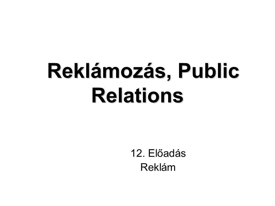 Reklámozás, Public Relations
