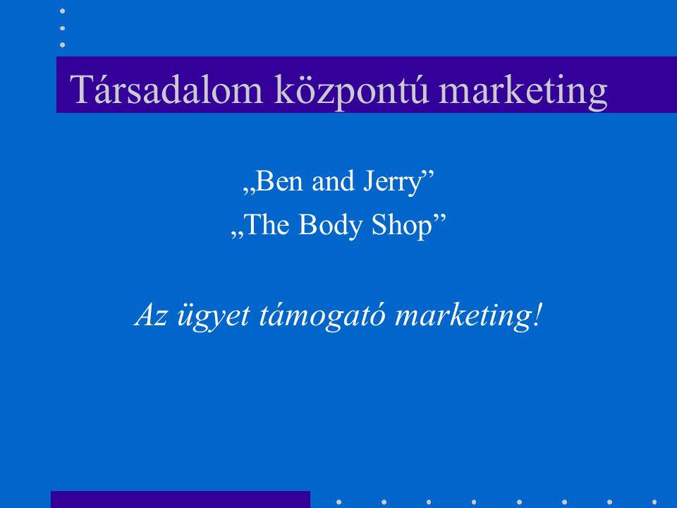Társadalom központú marketing