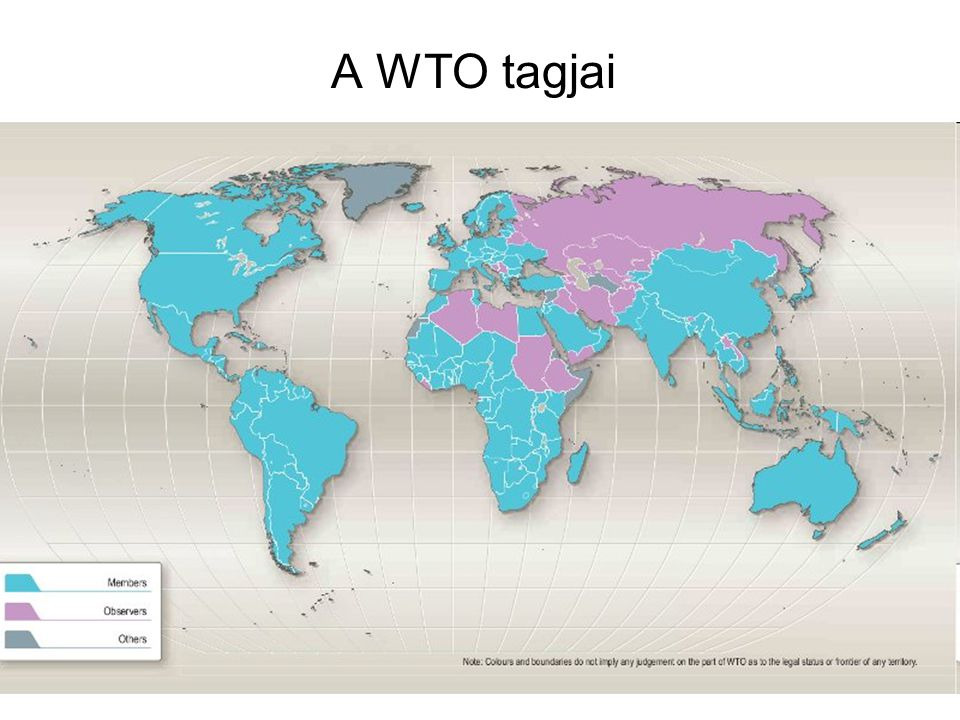 A WTO tagjai