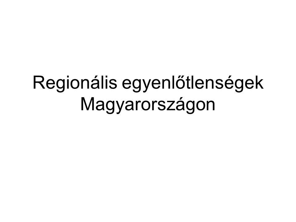 Regionális egyenlőtlenségek Magyarországon