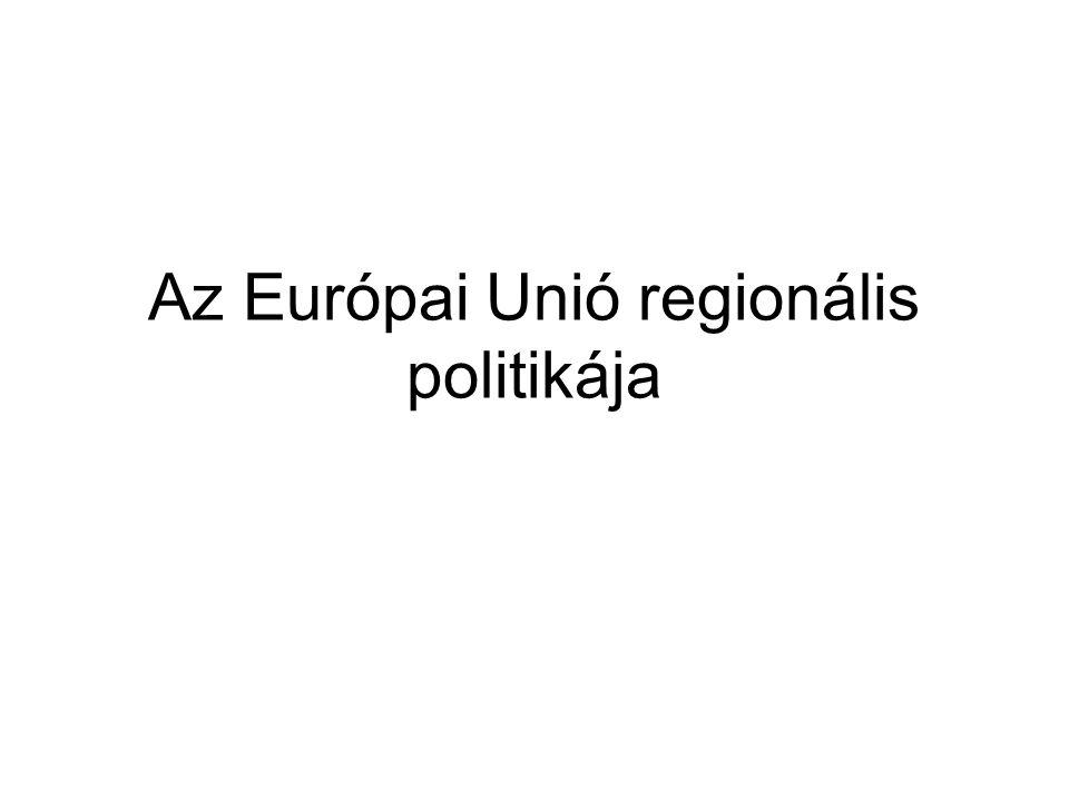 Az Európai Unió regionális politikája