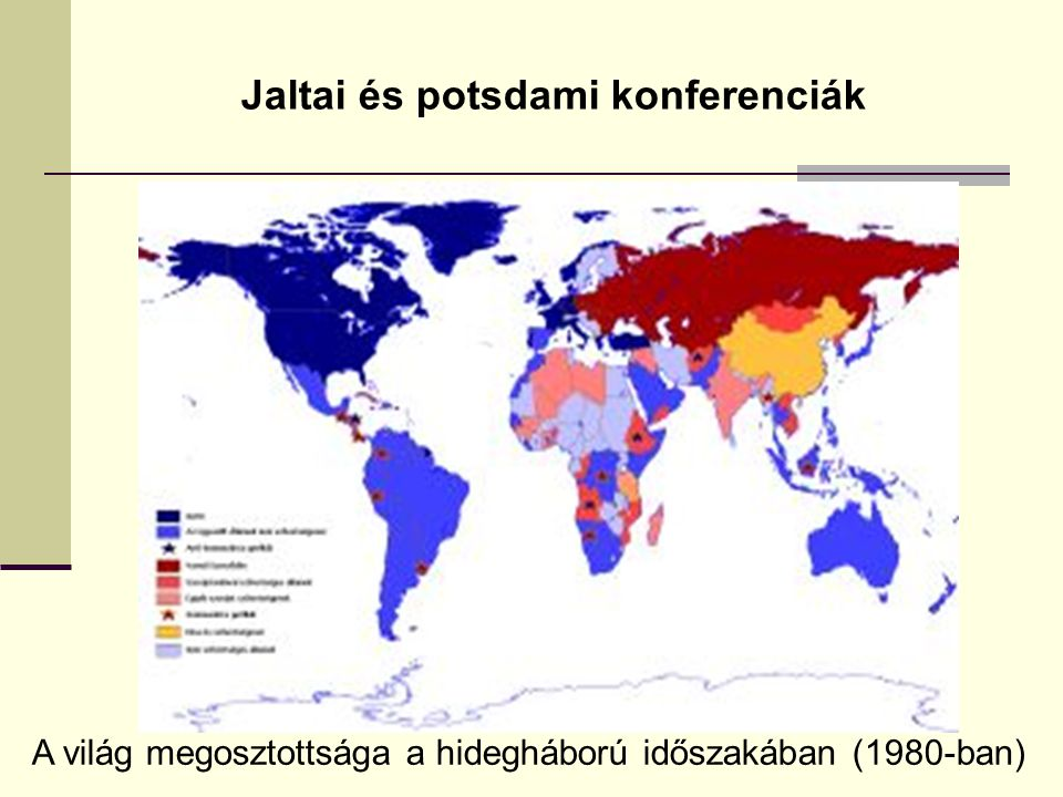 Jaltai és potsdami konferenciák