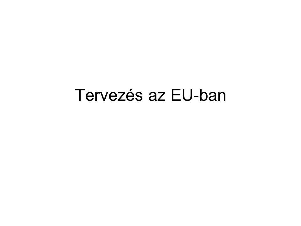 Tervezés az EU-ban