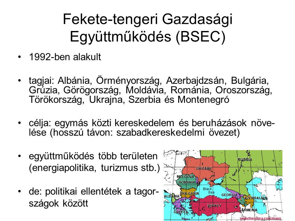 Fekete-tengeri Gazdasági Együttműködés (BSEC)