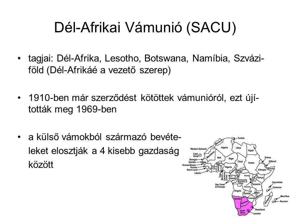 Dél-Afrikai Vámunió (SACU)