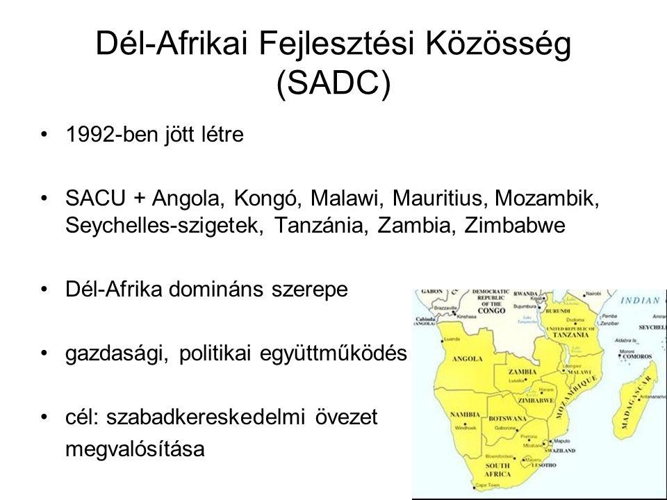 Dél-Afrikai Fejlesztési Közösség (SADC)