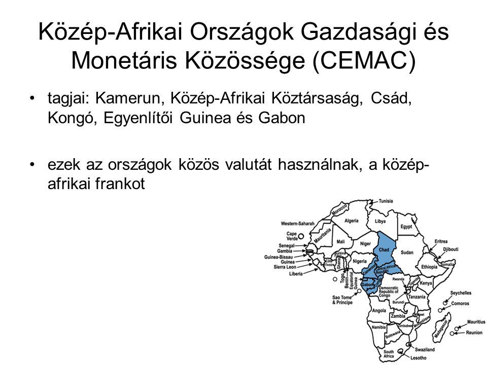 Közép-Afrikai Országok Gazdasági és Monetáris Közössége (CEMAC)