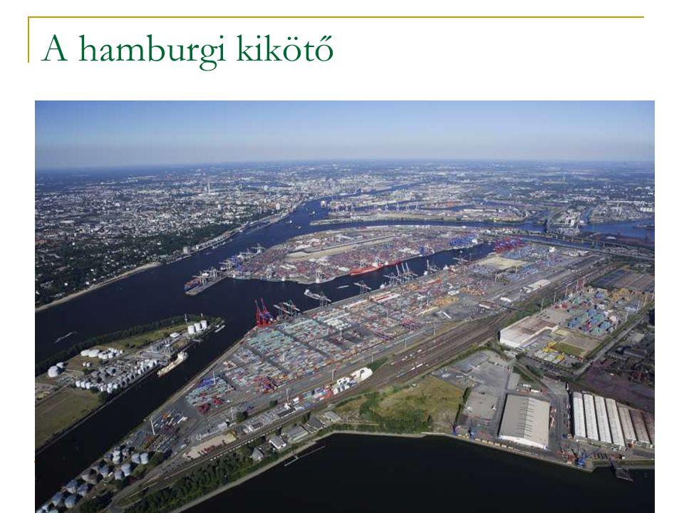 A hamburgi kikötő