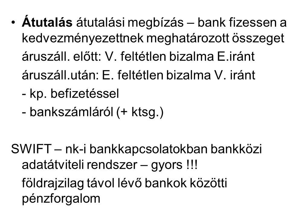 Átutalás átutalási megbízás – bank fizessen a kedvezményezettnek meghatározott összeget