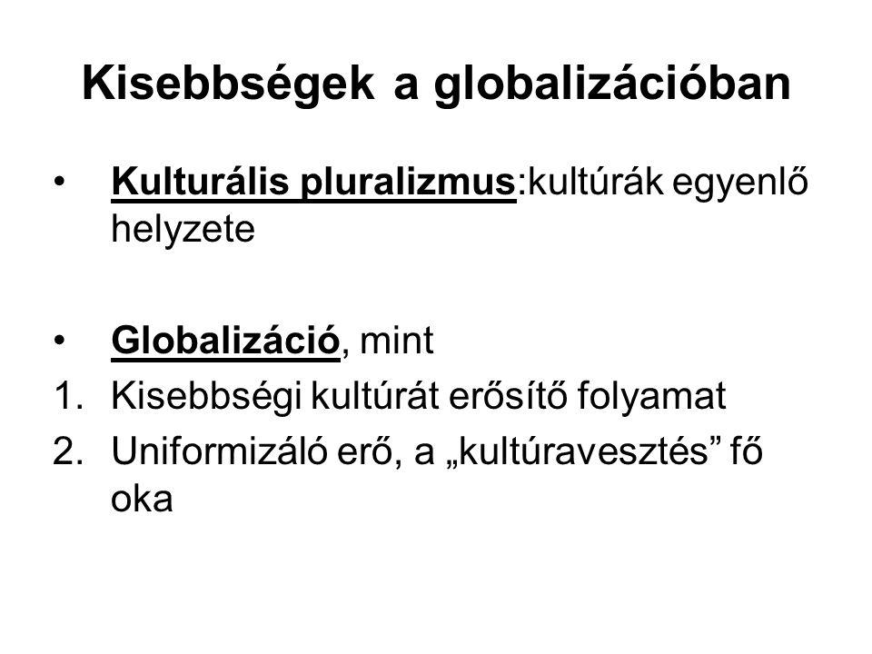 Kisebbségek a globalizációban