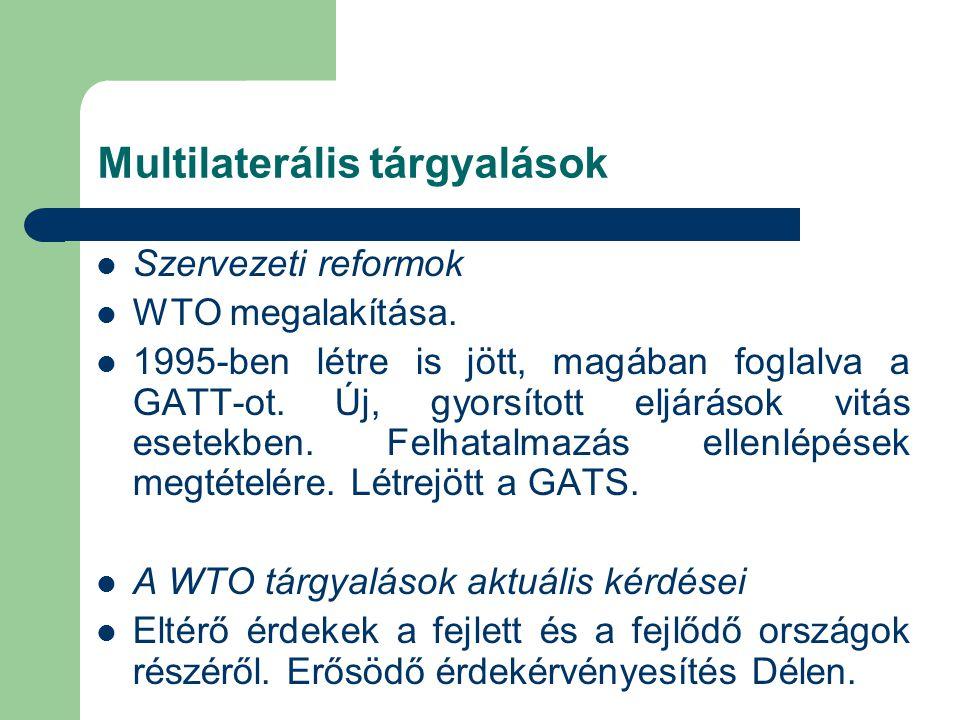 Multilaterális tárgyalások