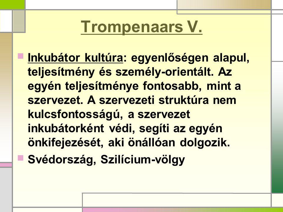 Trompenaars V.