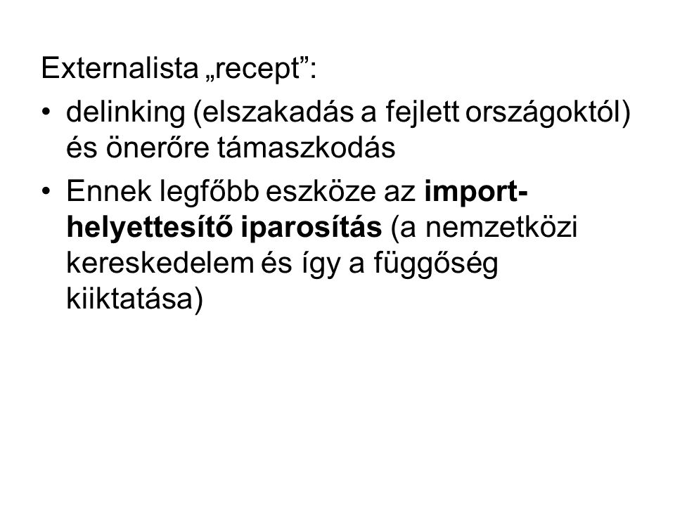 "Externalista ""recept :"