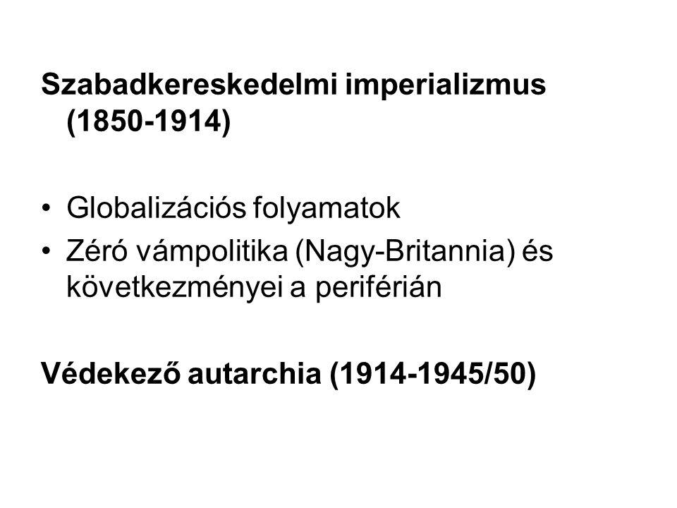 Szabadkereskedelmi imperializmus (1850-1914)