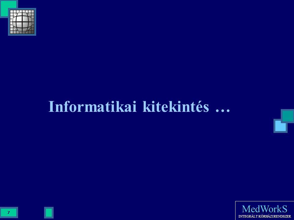 Informatikai kitekintés …