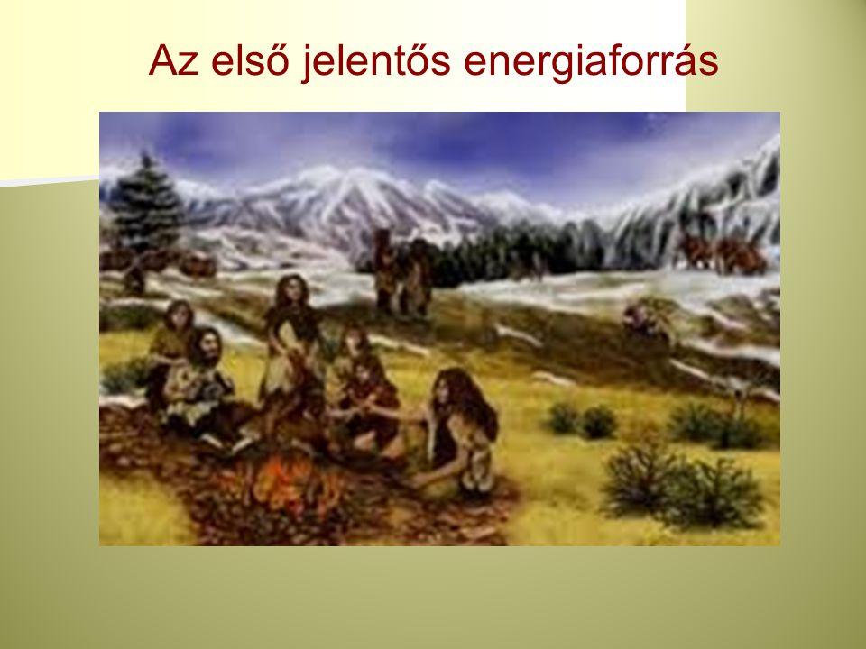 Az első jelentős energiaforrás