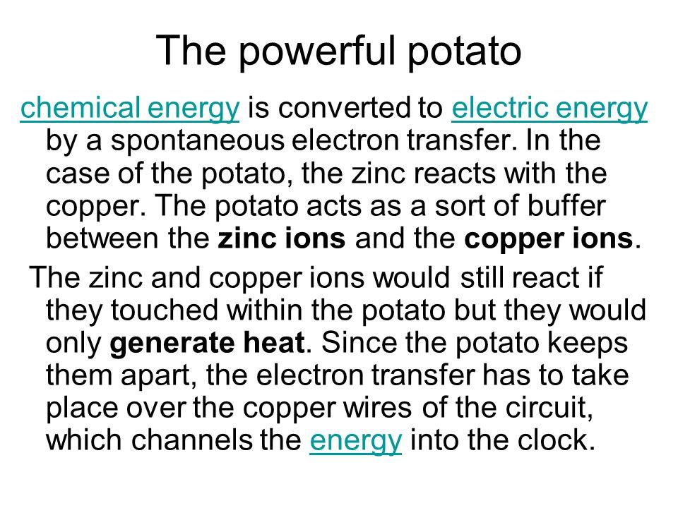 The powerful potato