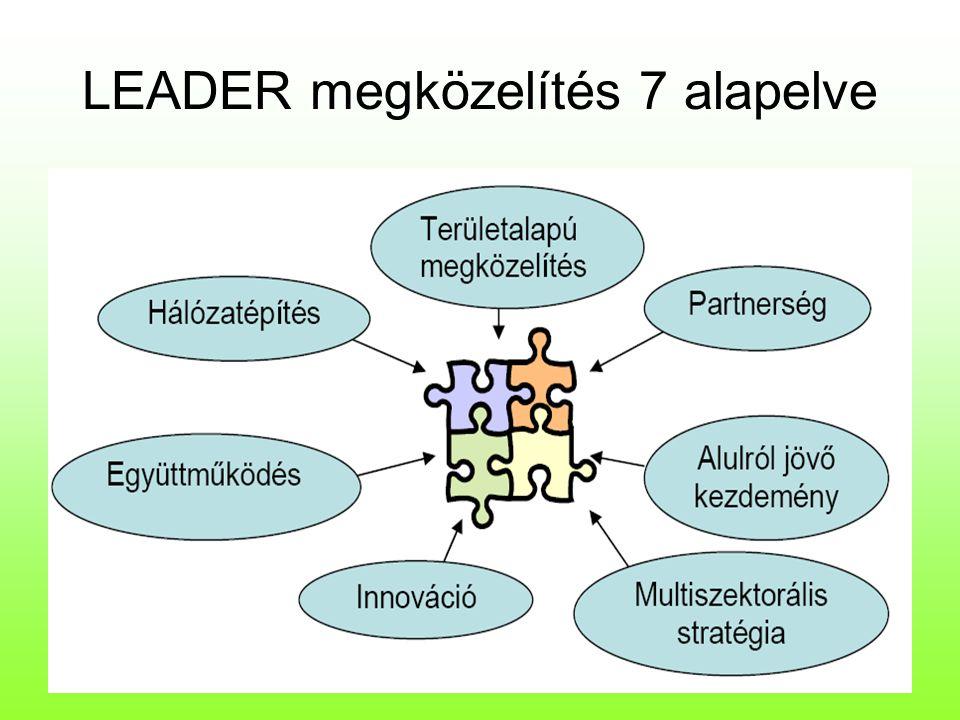 LEADER megközelítés 7 alapelve