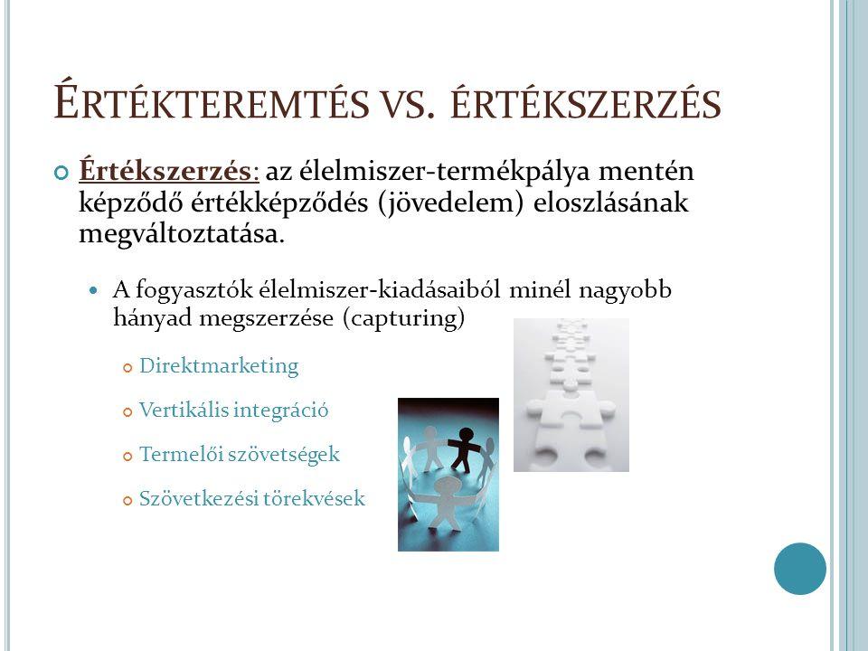Értékteremtés vs. értékszerzés