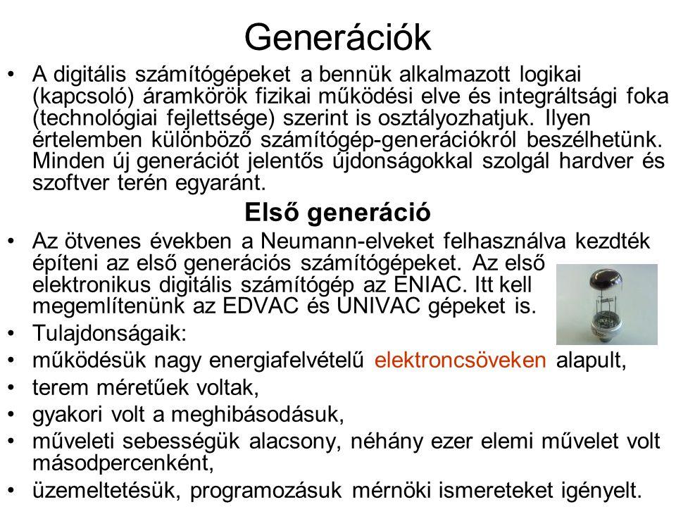 Generációk Első generáció