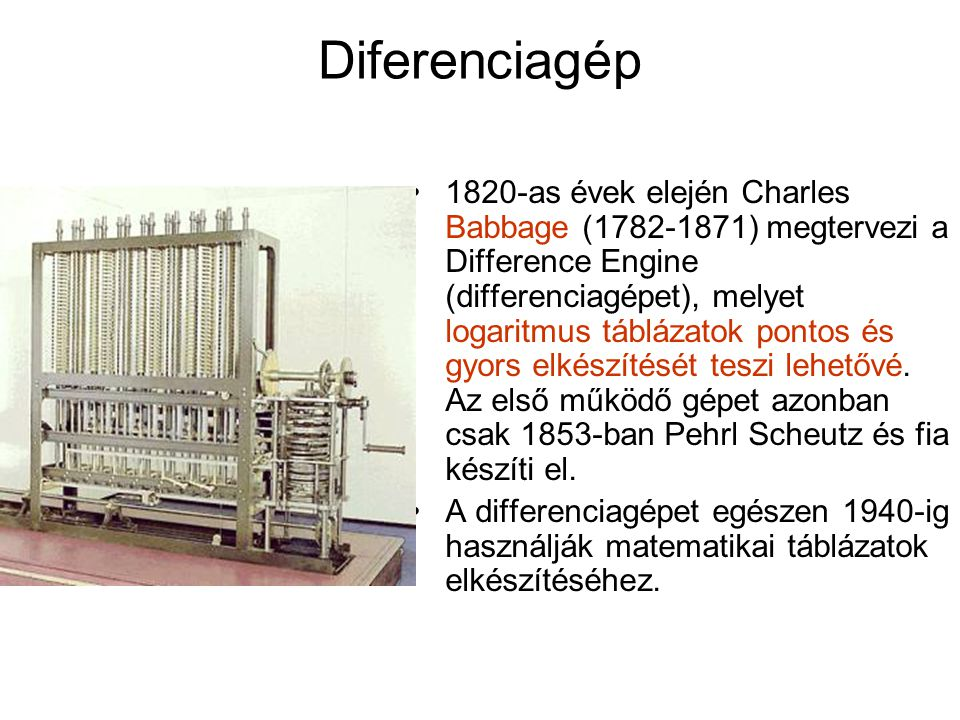 Diferenciagép
