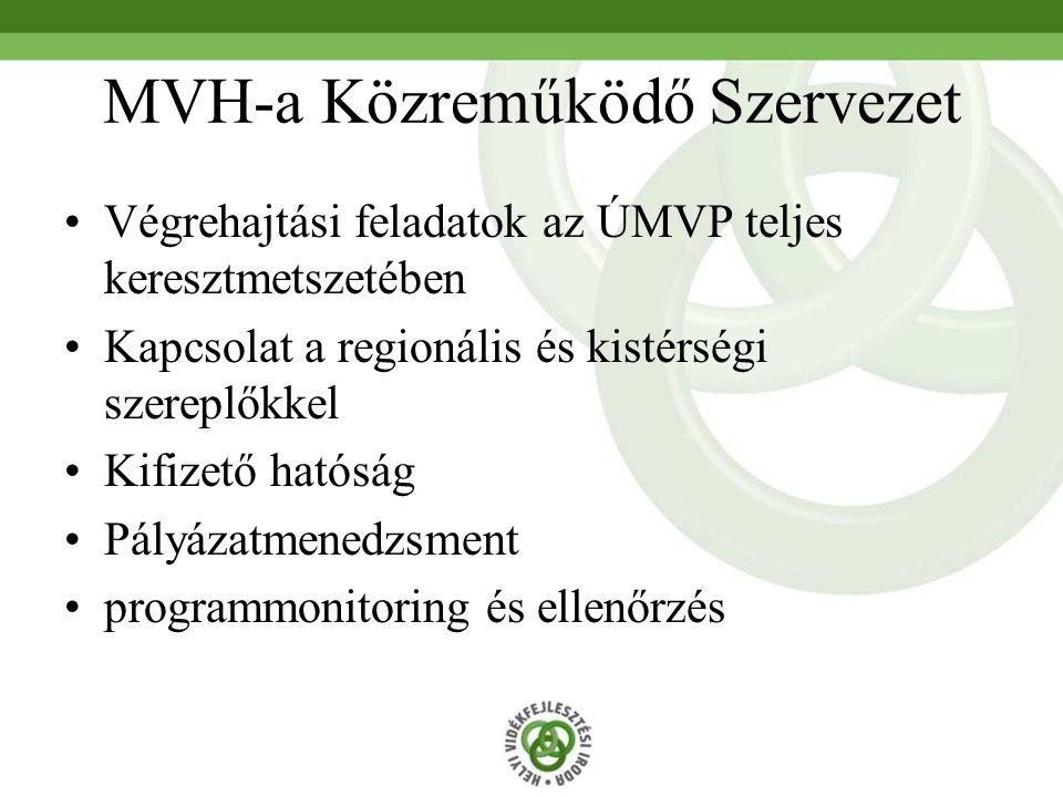 MVH-a Közreműködő Szervezet