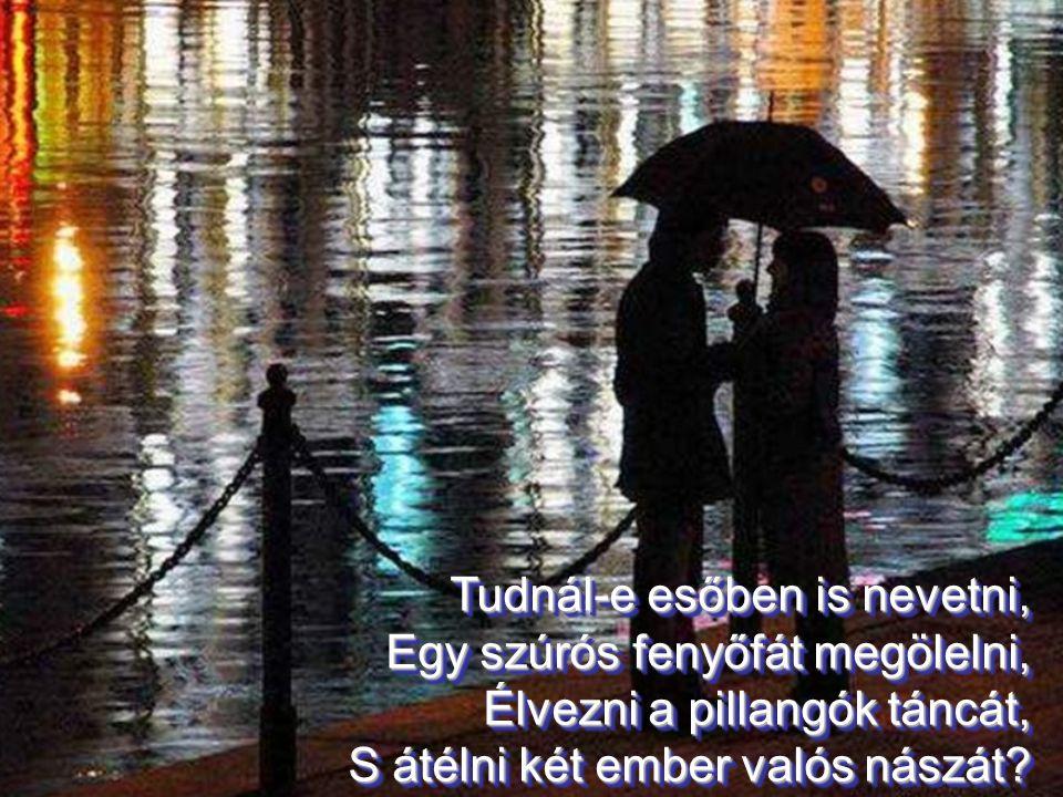Tudnál-e esőben is nevetni,