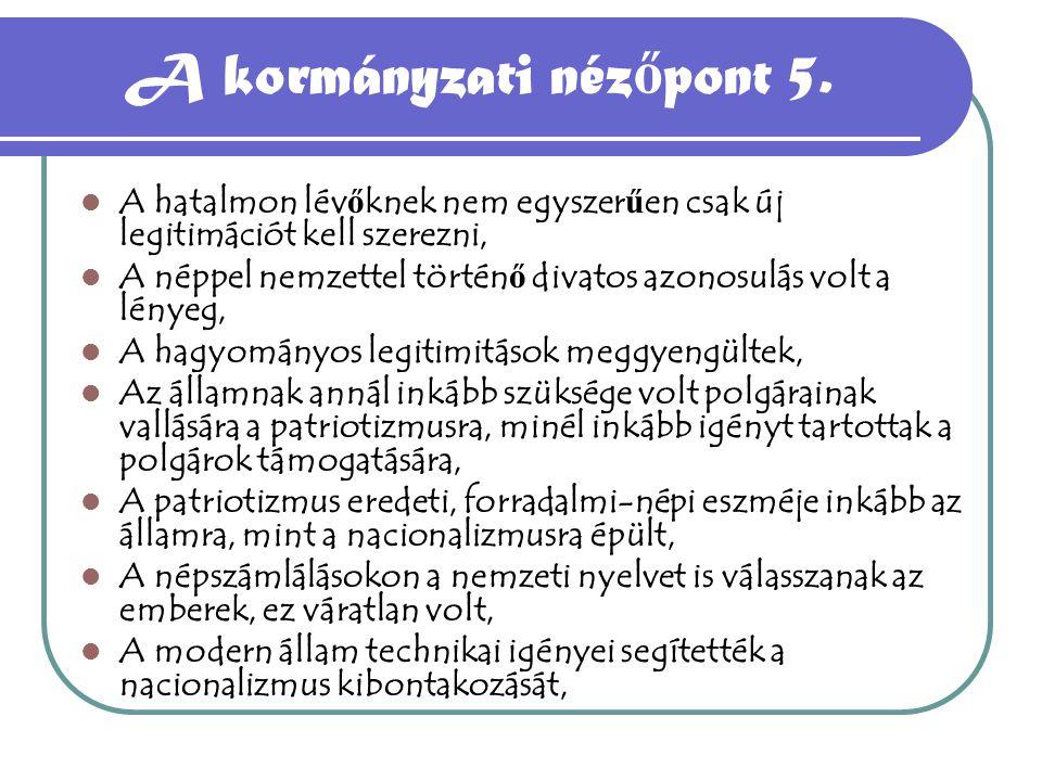 A kormányzati nézőpont 5.