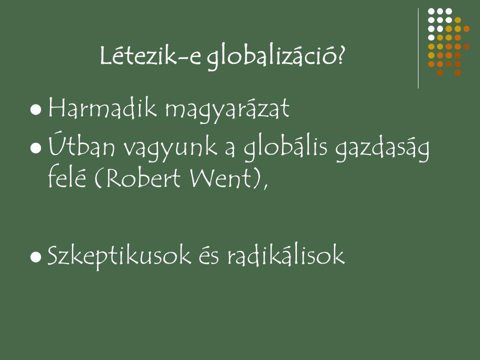 Létezik-e globalizáció