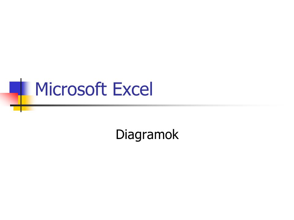 Microsoft Excel Diagramok