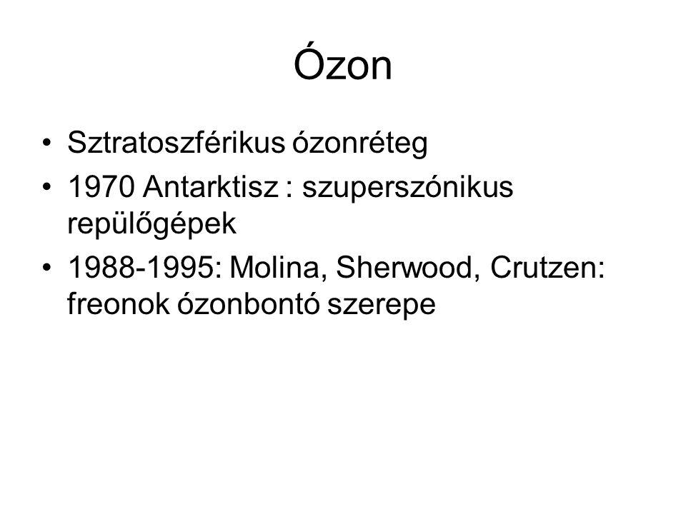 Ózon Sztratoszférikus ózonréteg