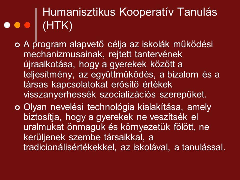 Humanisztikus Kooperatív Tanulás (HTK)