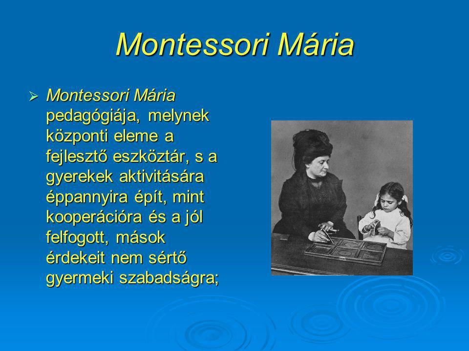 Montessori Mária