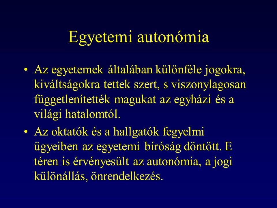 Egyetemi autonómia