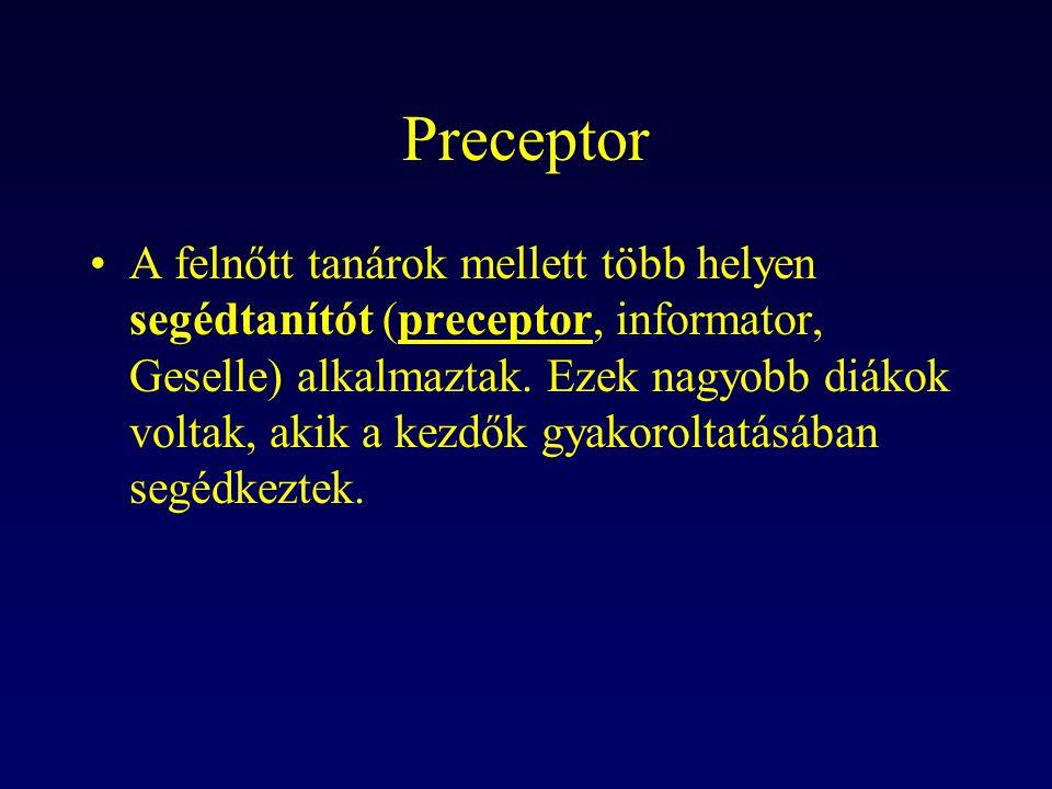Preceptor