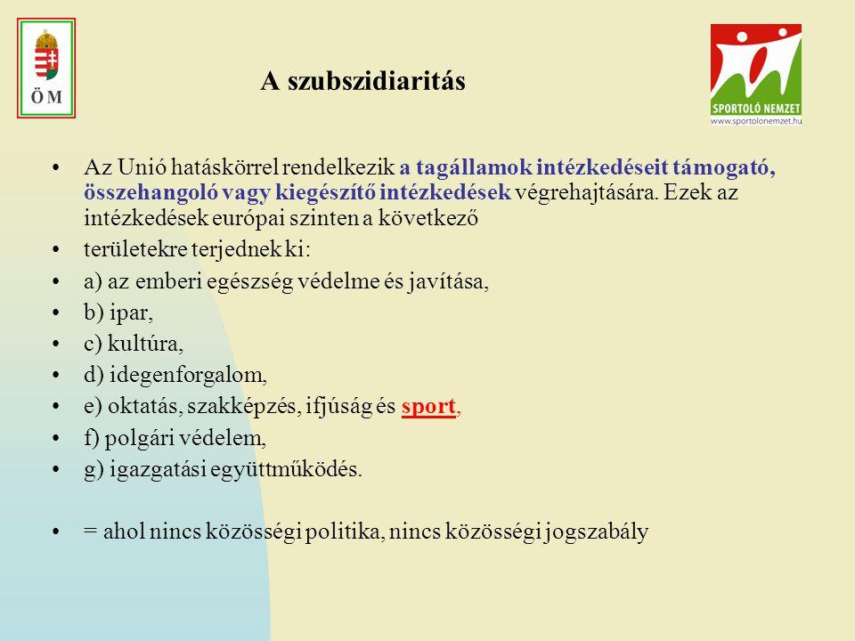 A szubszidiaritás
