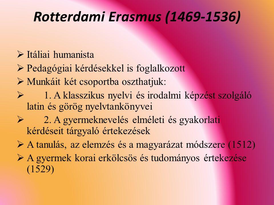 Rotterdami Erasmus (1469-1536)