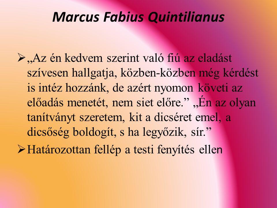 Marcus Fabius Quintilianus