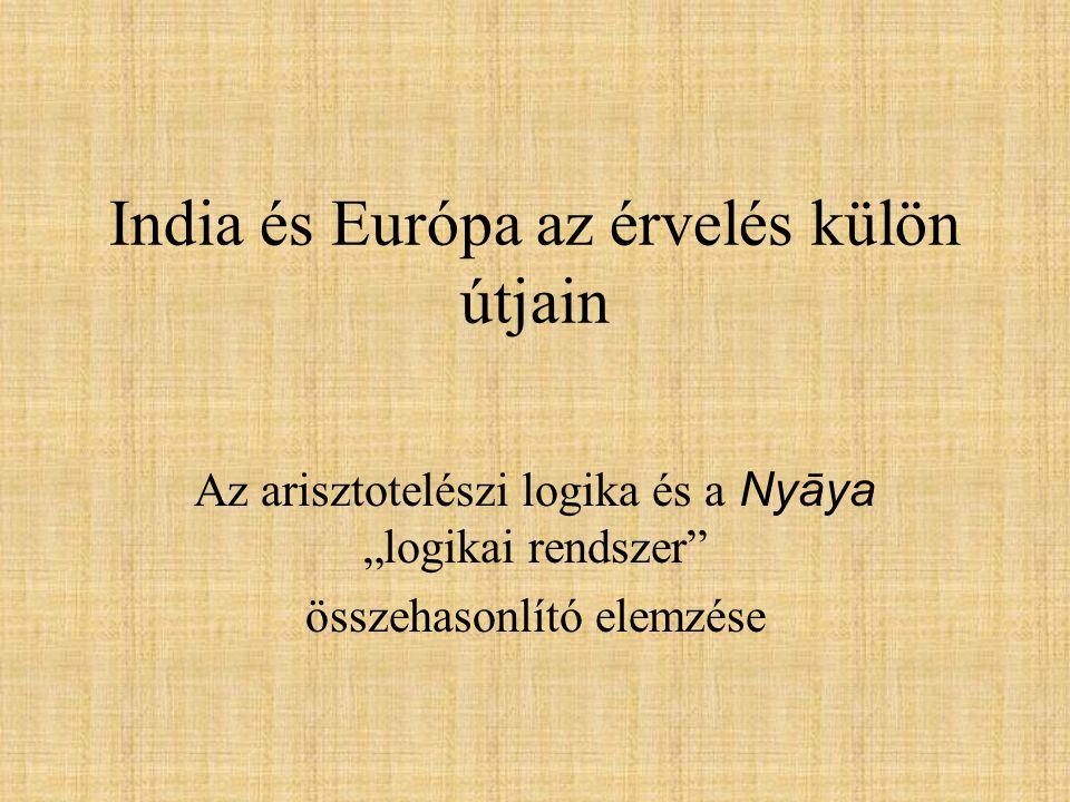 India és Európa az érvelés külön útjain
