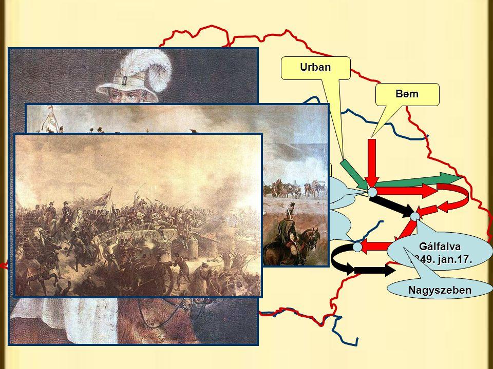 Urban Bem Puchner Kolozsvár 1848.dec.25. Kolozsvár
