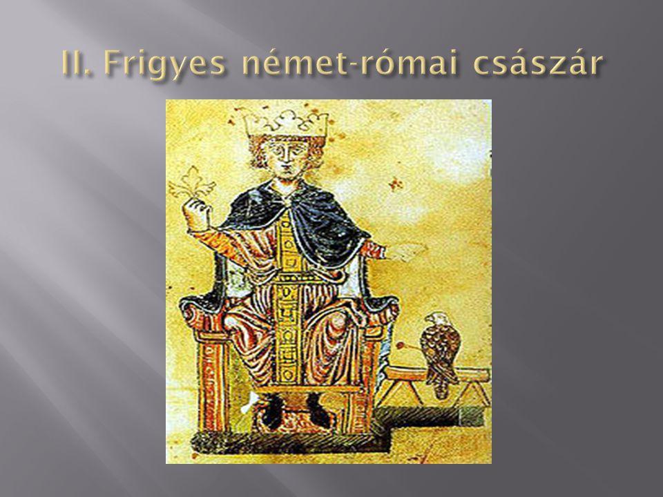 II. Frigyes német-római császár