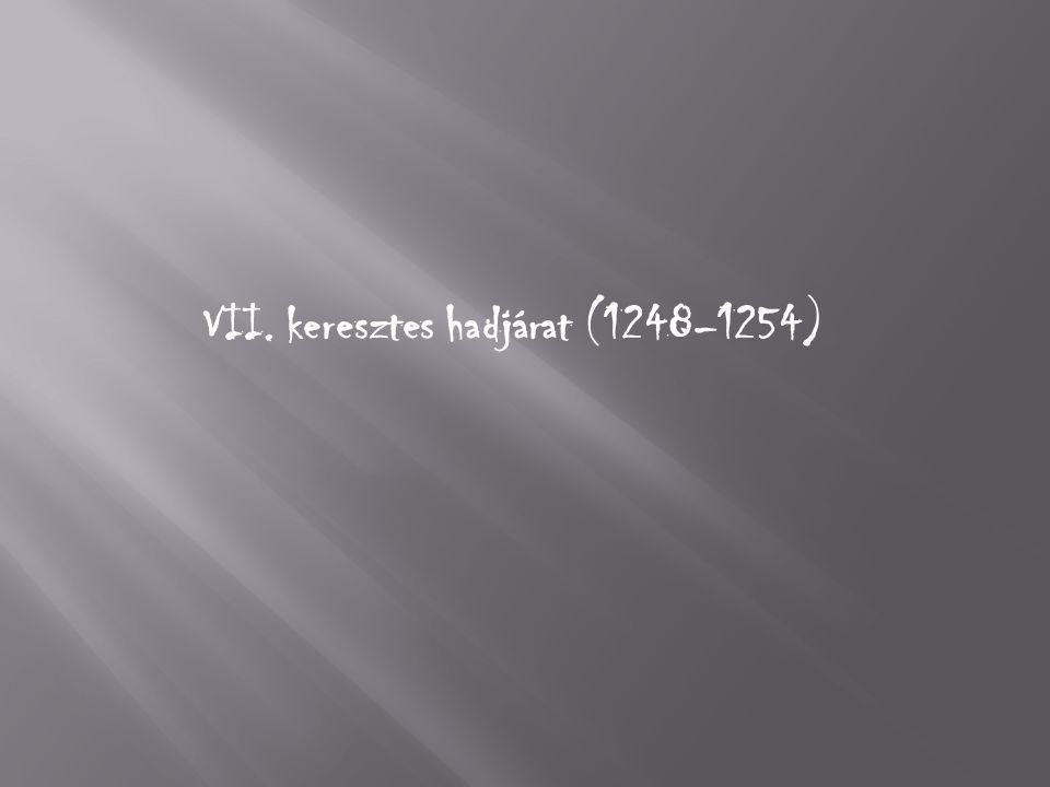 VII. keresztes hadjárat (1248–1254)