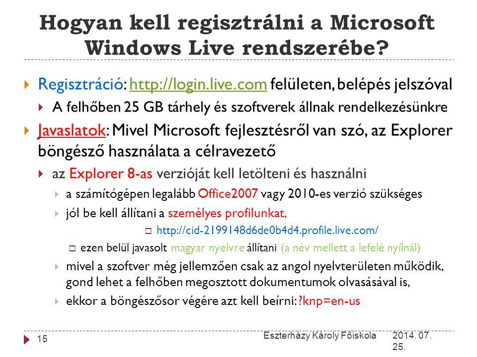 Hogyan kell regisztrálni a Microsoft Windows Live rendszerébe
