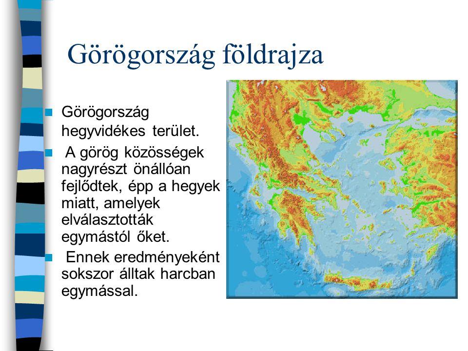 Görögország földrajza