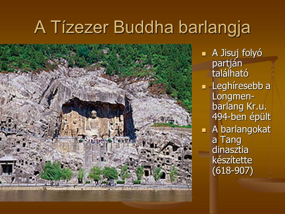 A Tízezer Buddha barlangja