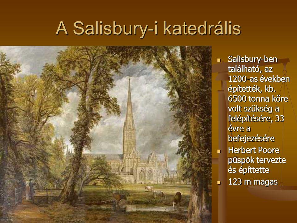 A Salisbury-i katedrális