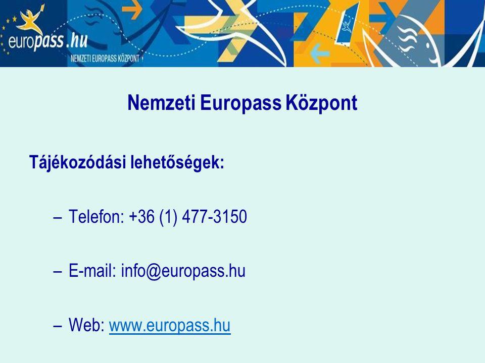 Nemzeti Europass Központ