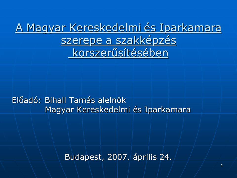 A Magyar Kereskedelmi és Iparkamara
