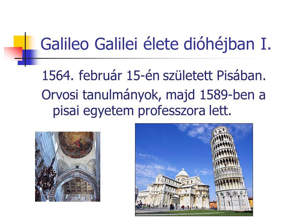 Galileo Galilei élete dióhéjban I.